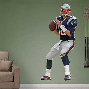 Tom Brady - Quarterback Fathead Wall Decal